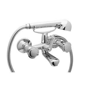 Art. BO1001 BATH AND SHOWER MIXER WITH FLEX HOSE CM. 150 AND HAND SHOWER – SERIE SOLE