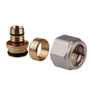 Art. 892 BRASS MULTILAYER PIPE ADAPTOR FOR 1/2×16 CONNECTION